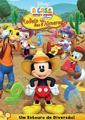A Casa do Mickey Mouse: Rodeio dos Números - DVD
