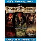 Piratas do Caribe Trilogia - BLU RAY
